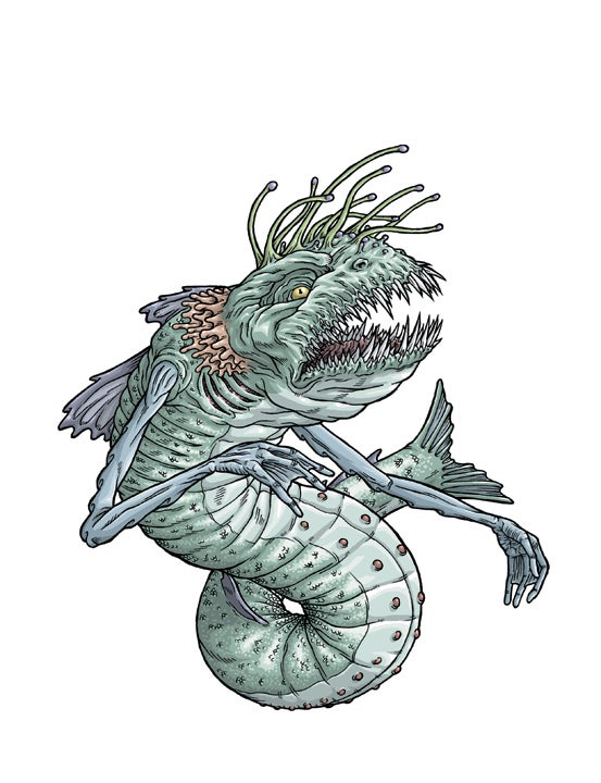 Artist draws his way through Lovecraft's creature catalog