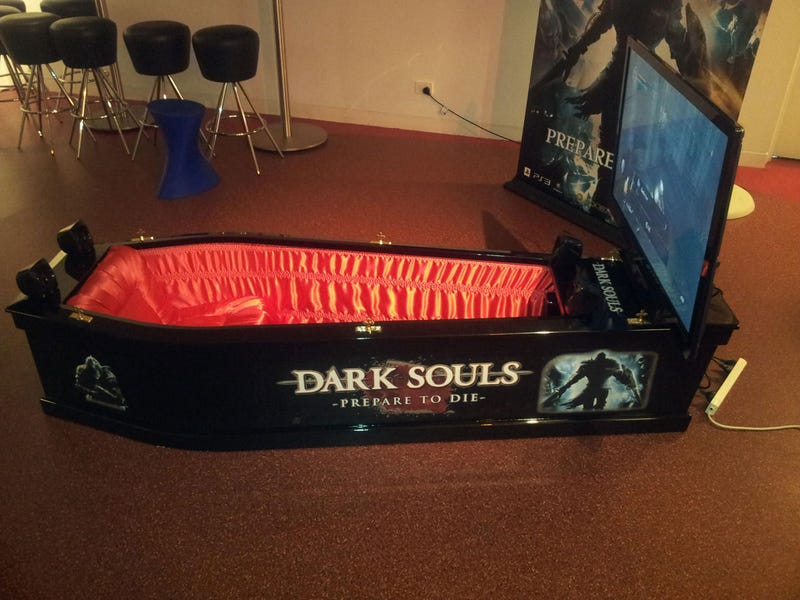 Why Not Play Dark Souls In a Coffin