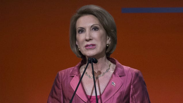 Carly Fiorina Also Doesn't Think You Should Have to Vaccinate Your Kids