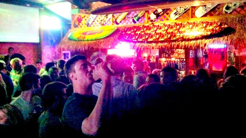 Tyler Hansbrough At The Bar Chugging A 40 In A Brown Paper Bag? Tyler Hansbrough At The Bar Chugging A 40 In A Brown Paper Bag. [UPDATE]