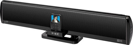 iLive's Extra-Wide iPod Surround Speakerbar