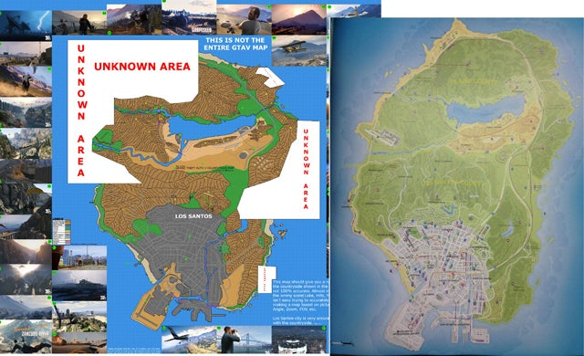 The Internet Reacts To Grand Theft Auto V's Map And Its Size