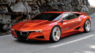 You Guys Know The BMW M1 Hommage Concept Is The BMW i8, Right?
