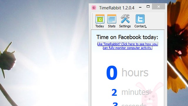 TimeRabbit Keeps Track of How Much Time You Waste on Facebook