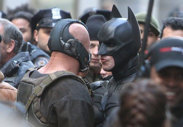The Dark Knight Rises Set Pictures Part Two
