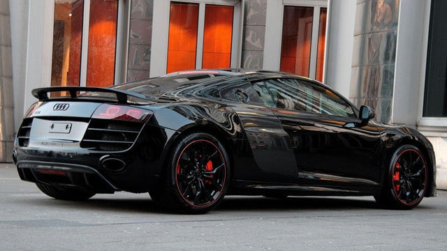 The Hyper Black R8 wants to be the dark night of your soul