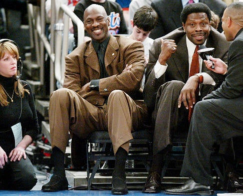 It's 2012, And Michael Jordan Has Found Another Way To Humiliate Patrick Ewing