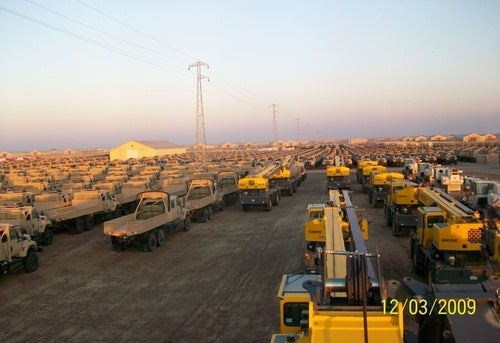 An Iraqi Field Of US Taxpayer-Bought Trucks Stretching To The Horizon