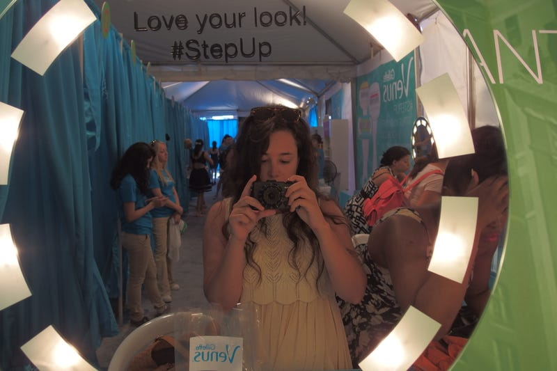 Shiny Legs, Shared Makeup, and Public Ogling: My Day With Gillette