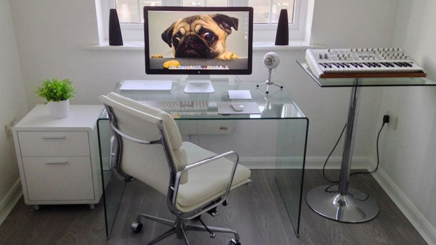 The Spotless White Workspace