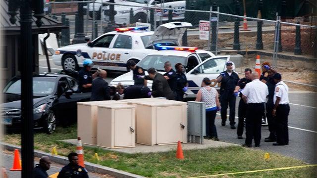 Depressed mother shot dead after Washington DC car chase