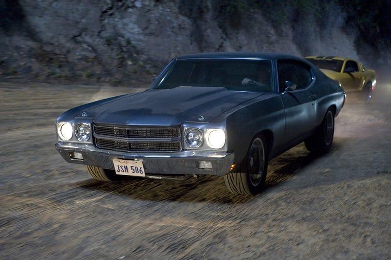 Dom Toretto's 1970 Primer Chevrolet Chevelle SS