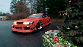 Drifting Around The Christmas Tree