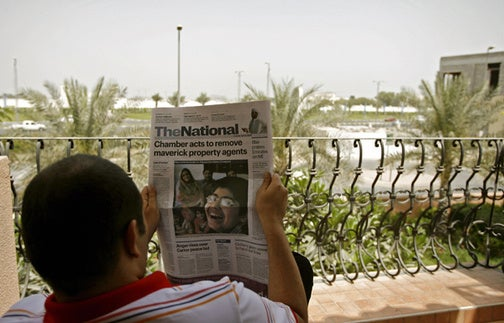 The Future Is in Abu Dhabi, Journalists