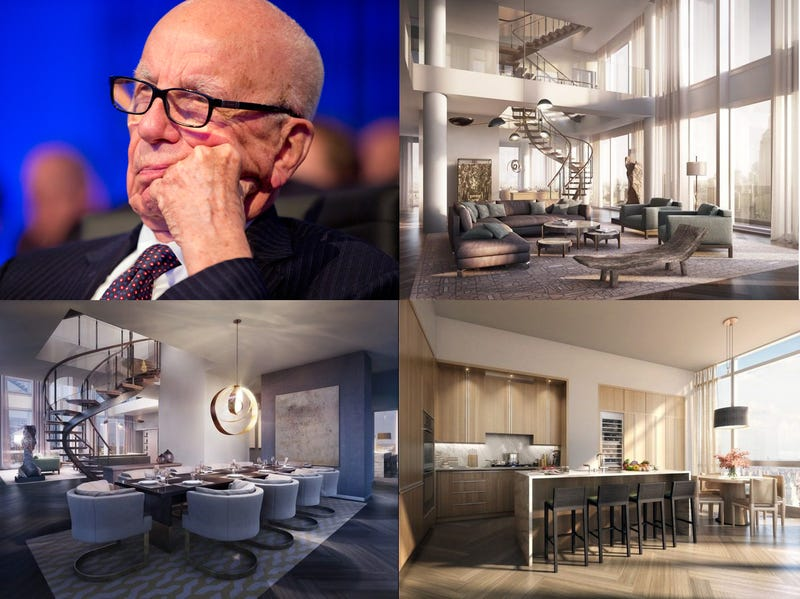 Hot Eligible Bachelor Rupert Murdoch Buys New $57 Million Fuck Pad