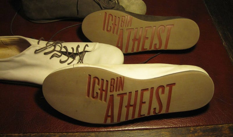 "Packages sealed with ""Atheist"" tape go missing 10x more often than controls"