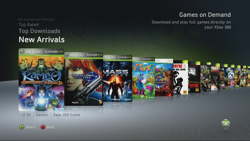 New Xbox Live Update: Full Game Downloads, Expanded Netflix Features and More