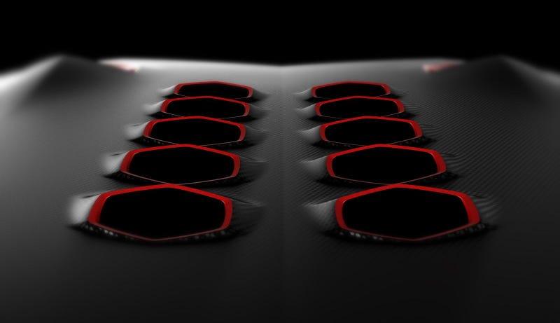Lamborghini Jota: Lighter, Sexier, Carbon Fiberier