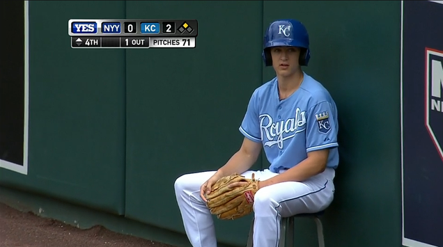 Royals Ball Boy Fields Fair Ball, Compensates For It In The Bes…