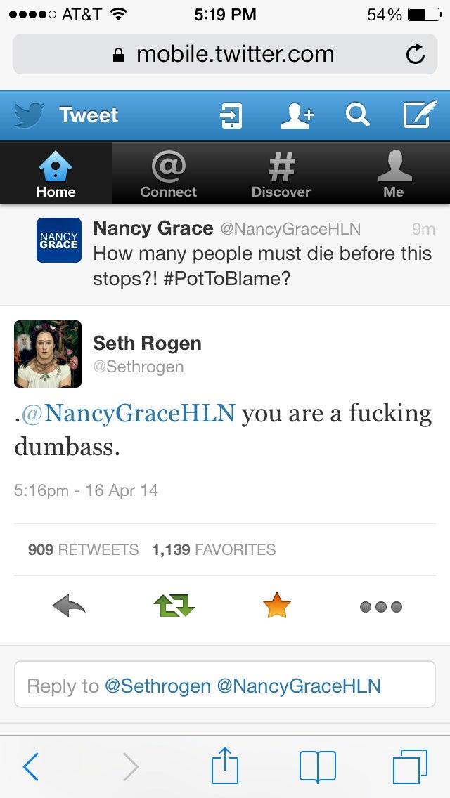Ah Seth Rogen
