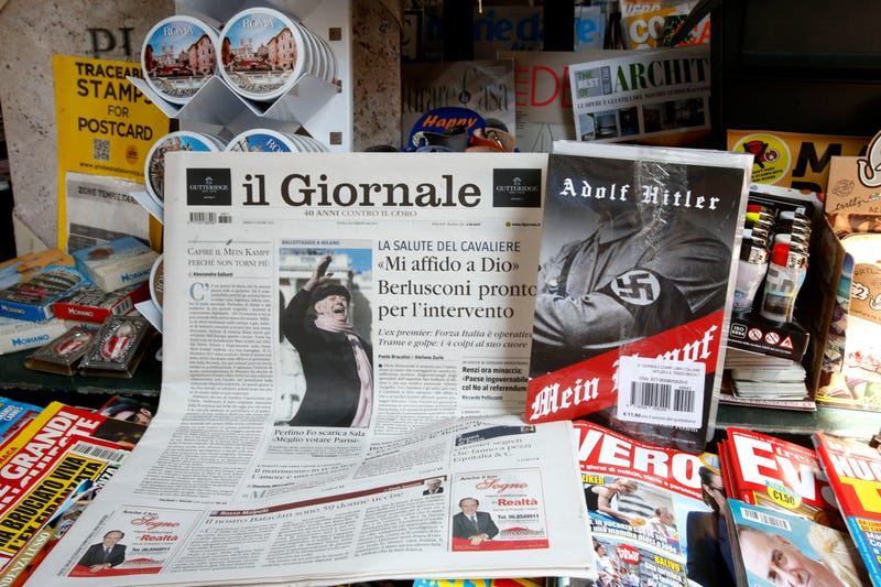 A Rightwing Italian Newspaper is Handing out Copies of 'Mein Kampf' to its Readers
