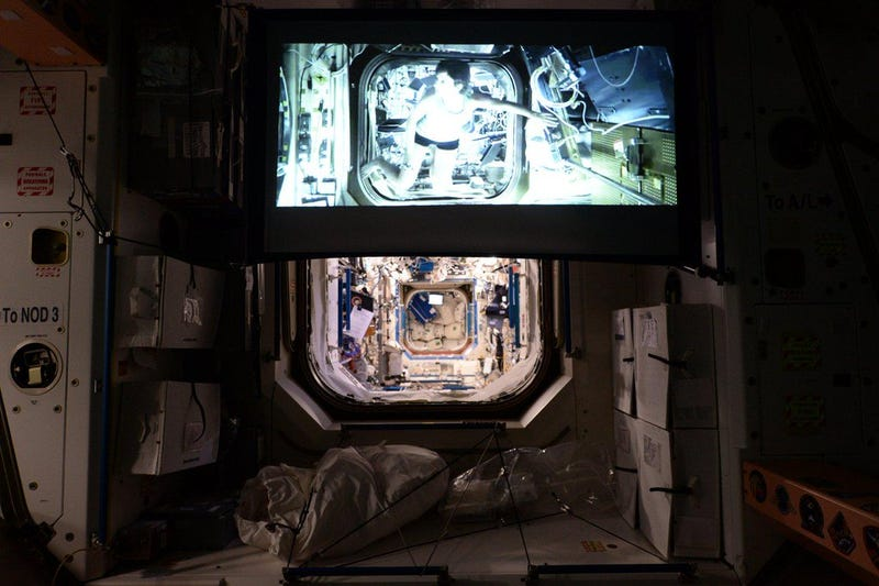 The Complete List of Movies and TV Shows on the International Space Station