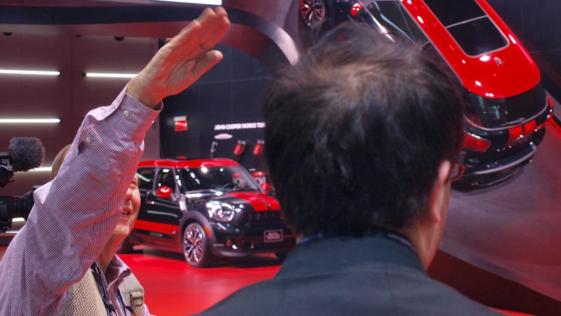 Here Is Everyone At The Mini Paceman JCW Launch Who Looks Like They Want To Die