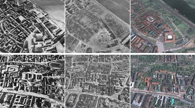 Travel Back to 1943 and Witness WWII Through Google Earth