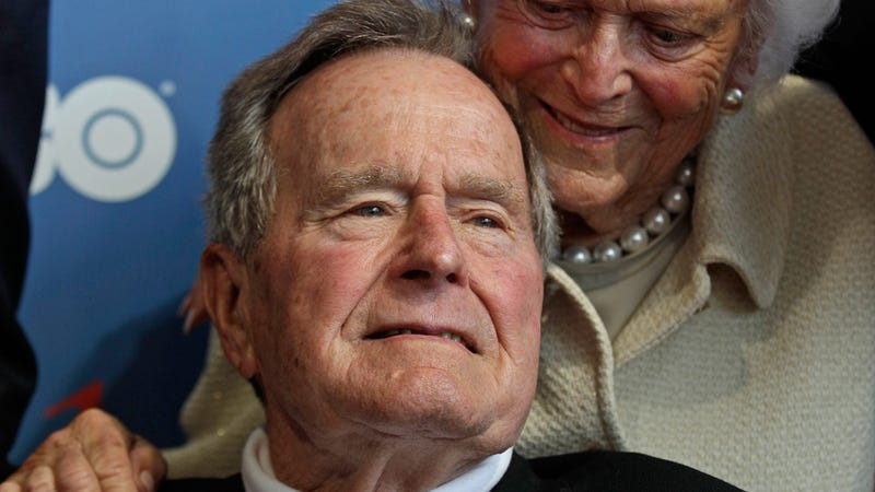 George H.W. Bush in Intensive Care, 'Surrounded By Family,' Doctors 'Cautiously Optimistic'