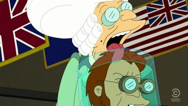 Futurama gives the most twisted presidential history lesson ever