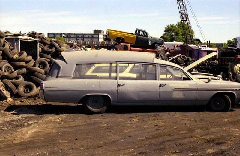 JFK Ambulance Scrapyard Gallery