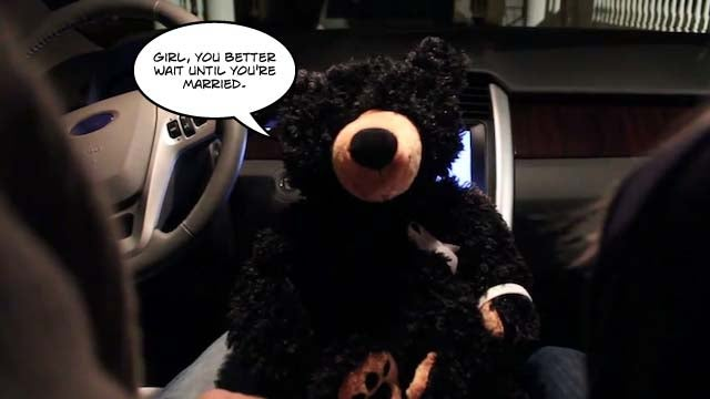 "Purity Bear Says ""Happy Valentine's Day!"""