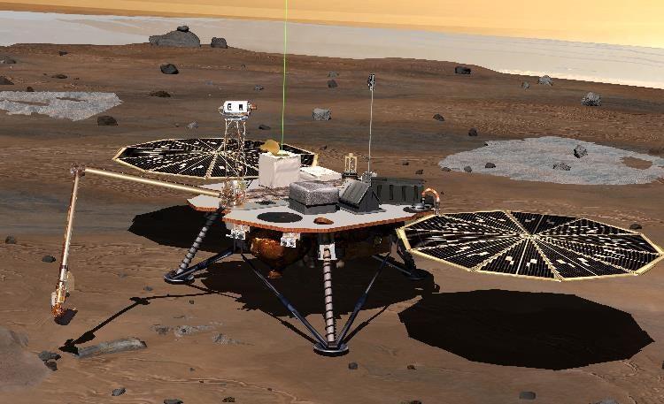 NASA Engineers Prep for Phoenix Lander Rendezvous with Martian Arctic