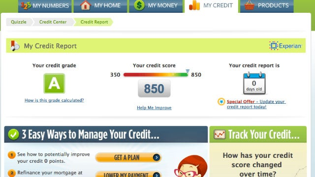 Quizzle Gives You a Free Credit Score and Credit Report