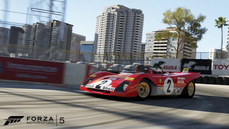 Forza 5 Gets Long Beach Free
