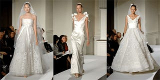 This Season's Bridal Wares Continue To Inspire Shock, Awe