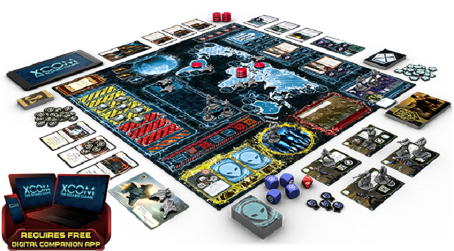 Check Out All The Goodies That Come With The New XCOM Board Game