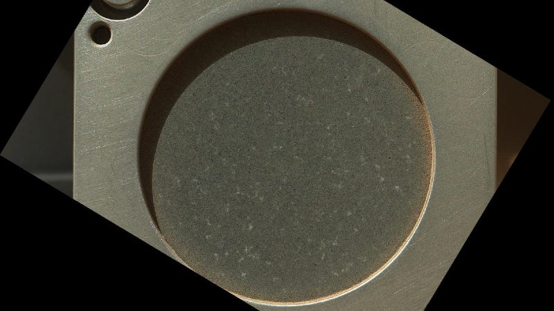 Curiosity Took an Earth Rock to Mars