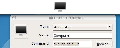 Add Nautilus superuser shortcut to the menubar