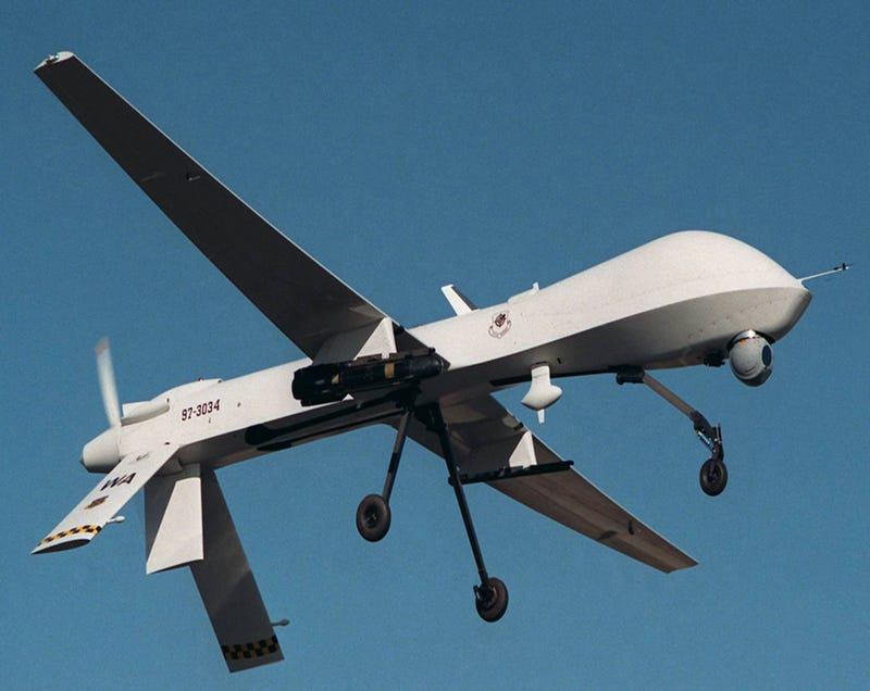 Exclusive Pics Of What Could Be The Navy's First Stealth Combat Drone