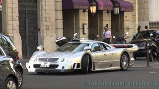 The Mercedes CLK GTR Is Incredibly Absurd And Gorgeous In Paris
