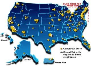 CompUSA Closing 128 Stores
