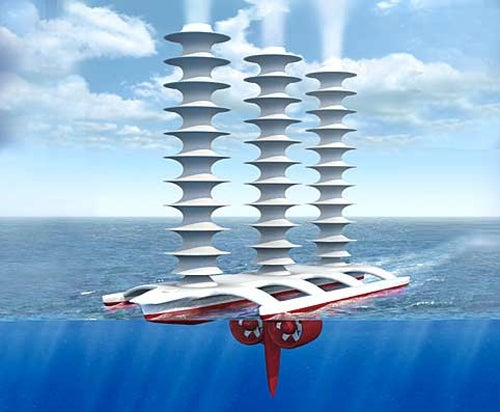 Cloud-Generating 1900-Ship Armada to Sink Climate Change