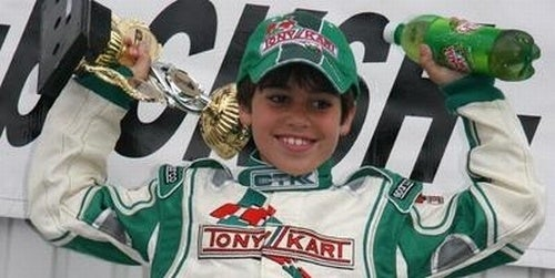 11-Year-Old Kid Gets Contract From Ferrari Racing