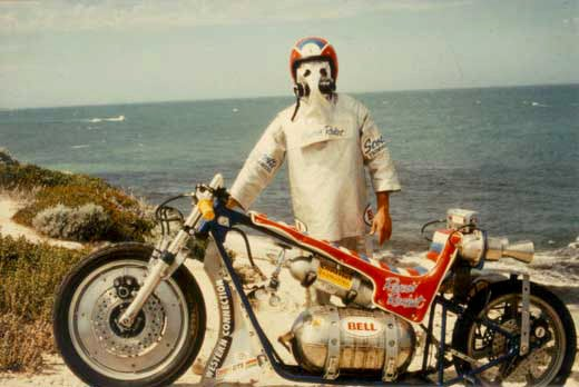 The History Of The Rocket-Powered Motorcycle