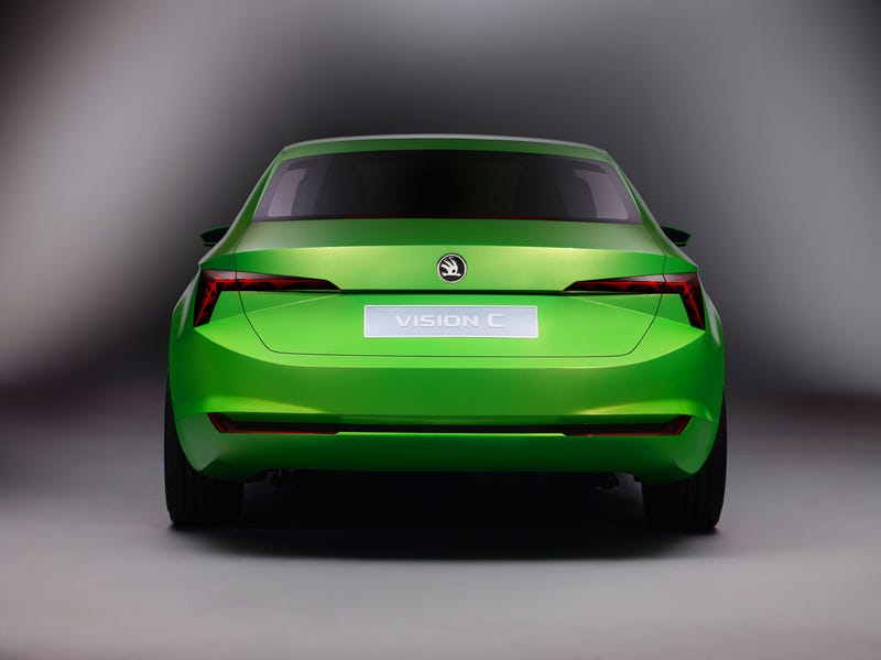 The Skoda VisionC Concept Is An Audi A7 For The Common Man
