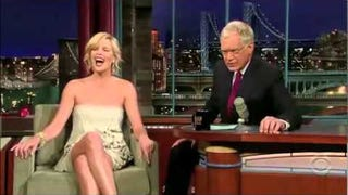 A Brief History of David Letterman Interacting With His Female Guests