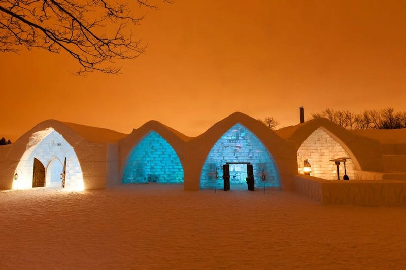 The Most Magnificent Ice Castles in the World