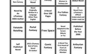 Fantasy Bingo Reading Challenge