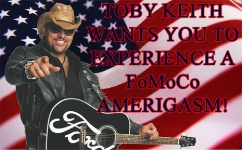Ford Looks To The Amerigasmic Power Of Toby Keith To Save The F-150